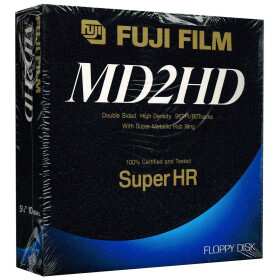 5,25 Disketten HD Fuji Film Super HR