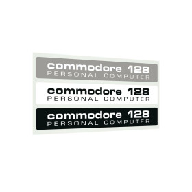 Label Commodore 128