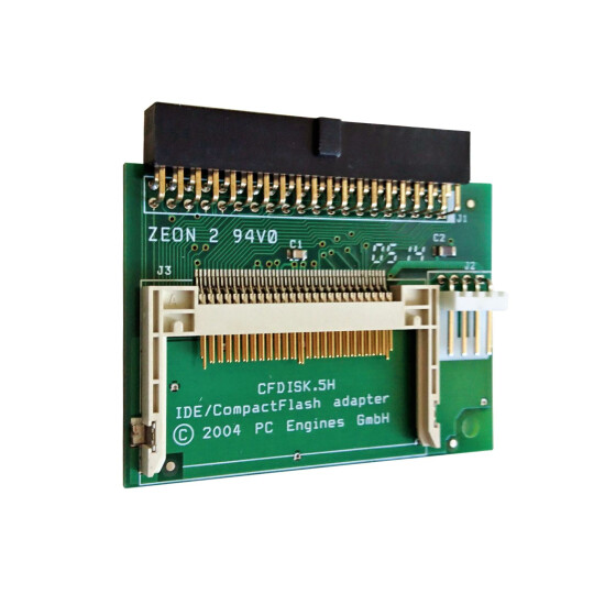CompactFlash-IDE-Adapter 40 Pin (weiblich)