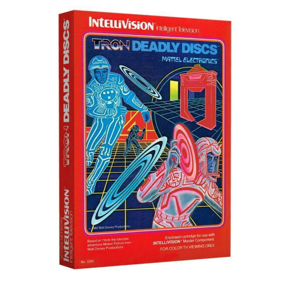Tron Deadly Discs (Klappbox)
