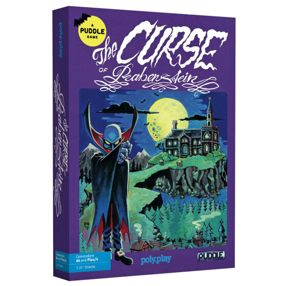 The Curse of Rabenstein - Collectors Edition - C64/Plus/4 Diskette