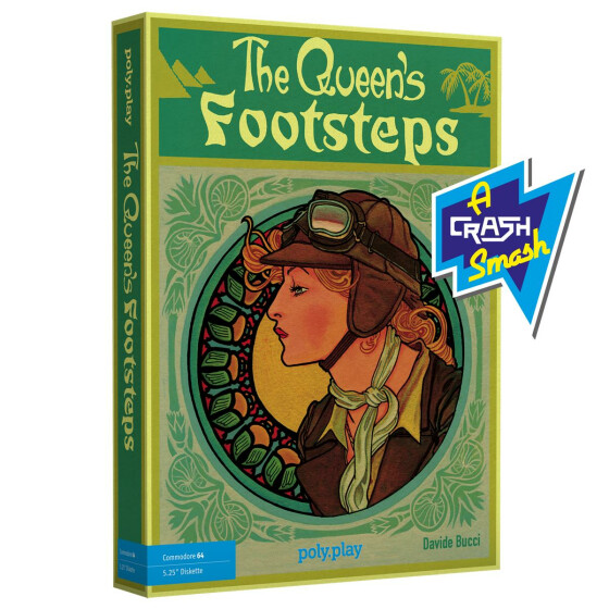 The Queens Footsteps - Collectors Edition - C64 5,25-Diskette