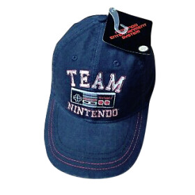 Snap Back Cap Team Nintendo (Baseball Cap)