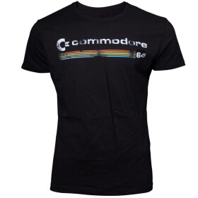 T-Shirt Commodore 64 Logo L