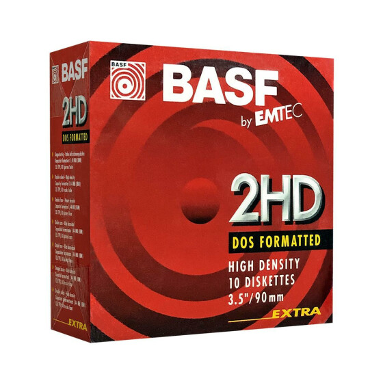 3,5 Disketten HD BASF