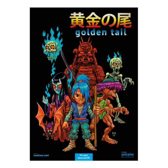 Golden Tail - Collectors Edition - 3,5-Diskette