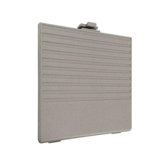 Battery compartment cover gray