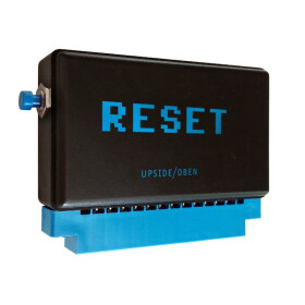 User Port Reset Button - black