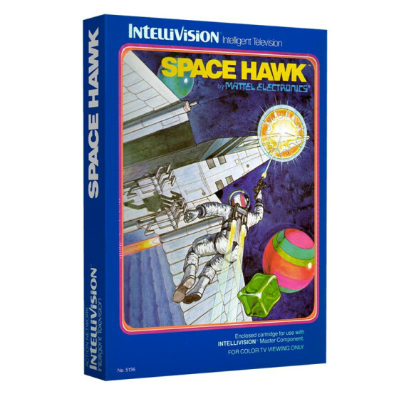 Space Hawk (Klappbox)