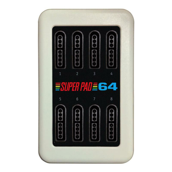 SuperPad64 - 8-Spieler-Interface (Commodore 64)