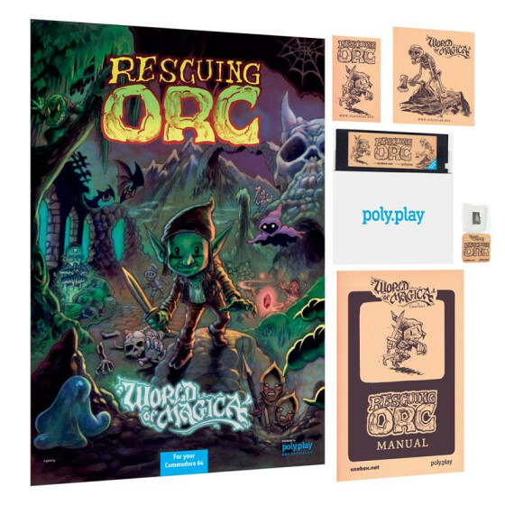 Rescuing Orc - Collectors Edition - 5,25-Diskette