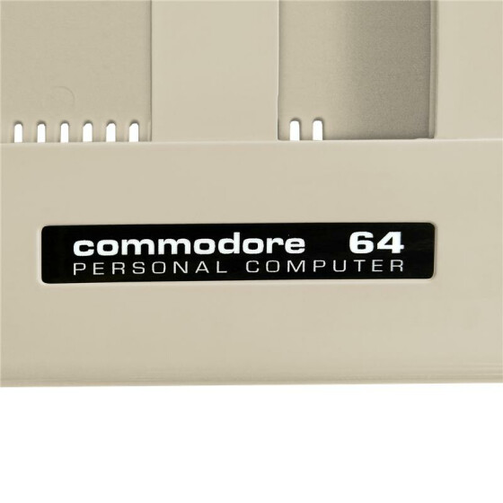 Label Commodore 64 C - 5er-Set