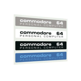 Label Commodore 64 C - Farbset