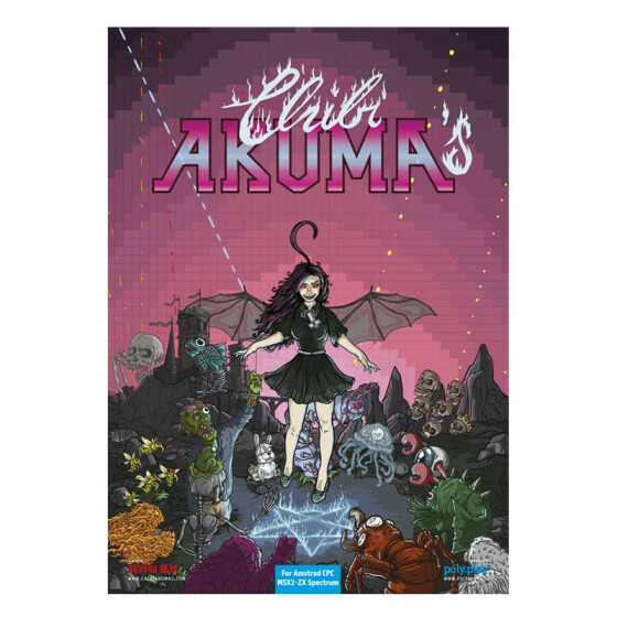 Chibi Akumas - Collectors Edition - MSX2 3,5-Diskette