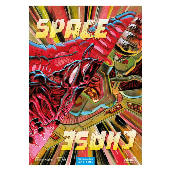 Space Chase - Collectors Edition - CBM II Modul