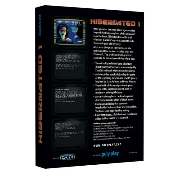 Hibernated 1: This Place is Death - Collectors Edition - C64 5,25-Diskette