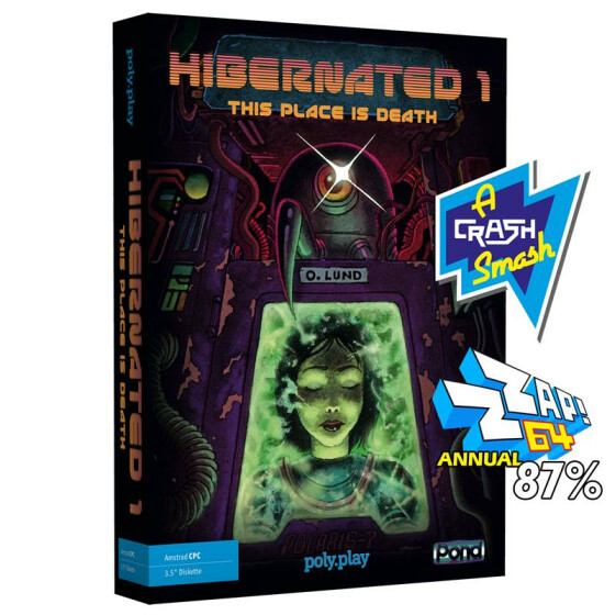 Hibernated 1: This Place is Death - Collectors Edition - CPC 3,5-Diskette
