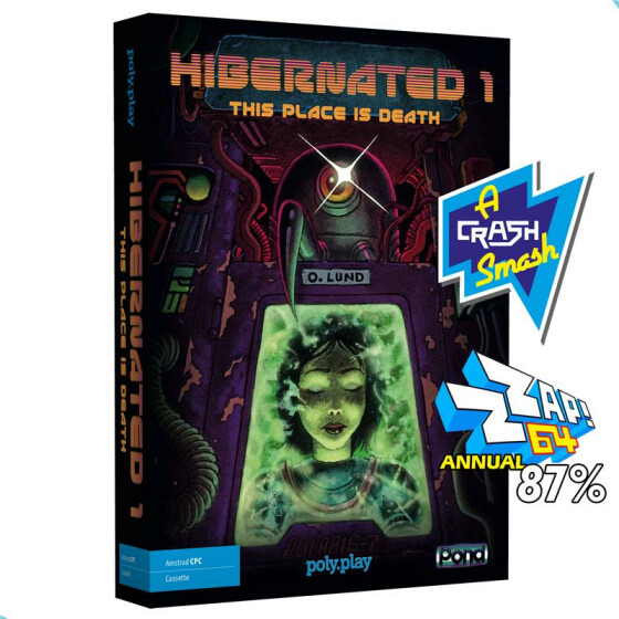 Hibernated 1: This Place is Death - Collectors Edition - CPC/Spectrum Kassette