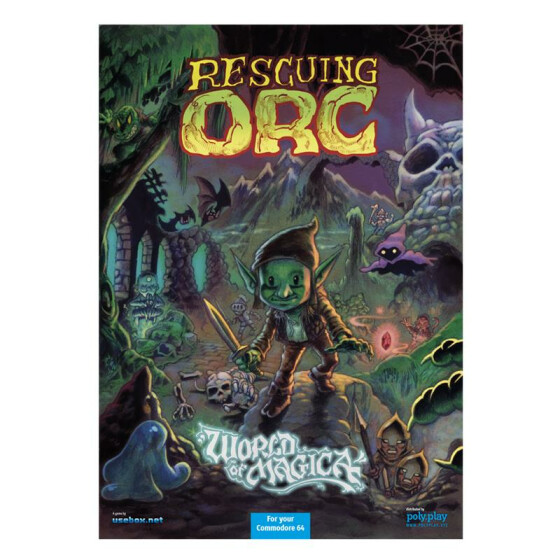 Rescuing Orc - Collectors Edition - 3,5-Diskette