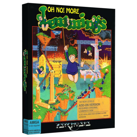Oh No! More Lemmings (Add-on Version)