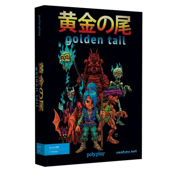 Golden Tail - Collectors Edition Big Box - 3-Diskette
