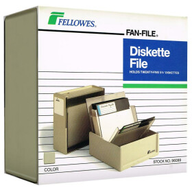 Diskette File - Box für 5,25-Disketten